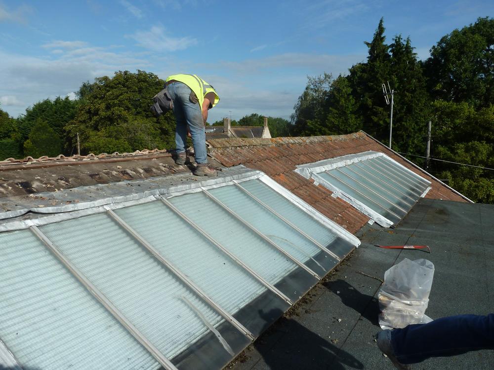 New Roof Light Installation